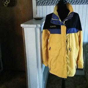 Yellow Columbia jacket